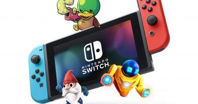 Switch lietotājiem ir iespēja tikt pie 10!! bezmaksas spēlēm!